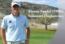 Kieron Fowler, mejor jugador amateur de la Comunidad Valenciana 2011