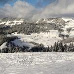 Rafa Cabrera-Bello felicitaba la Navidad desde Villars, Suiza