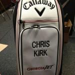 Let's see a pic of that new bag!, decía Chris Kirk nada más comenzar el año