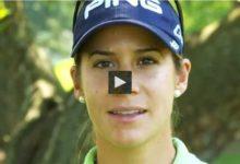 Azahara Muñoz habla del International Crown nuevo evento LPGA por paises (Ver Vídeos Azahara y Presentación del Torneo)