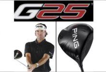 Ping presenta los nuevos G25: Drivers, Maderas, Híbridos y Hierros