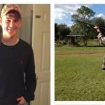 Al joven Bud Cauley le gusta salir a cazar con su padre. @BudCauley