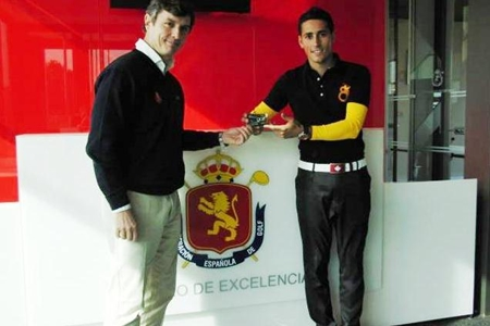 Carlos Pigem junto a Nacho Gervás