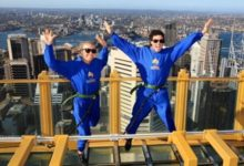 Rory McIlroy tocó el cielo de Sidney con su novia, Caroline Wozniacki (VIDEO)