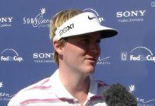 El 'rookie' Henley, líder con récord del Sony Open tras 2 rondas