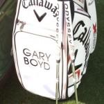 Gary Boyd con su nuevo 'juguete'