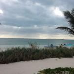 Graeme McDowell felicitó el año con esta instantánea desde Bakers Bay, Bahamas
