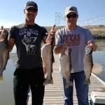 Graham DeLaet con su amigo @kodyhere compañero de pesca. @GrahamDeLaet