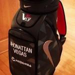 'Amo a mi nueva maleta Nike. Bien hecho caballeros.', escribió Jhonattan Vegas en su Twitter