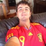 Jordi García del Moral disfruta del golf y con la selección española, durante la última Copa de Europa subió esta foto a su Twitter. @JGarciagolf