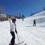 Julieta Granada esquiando: ' Mejore mucho y no me lastimé', escribió. @JulietaGranada