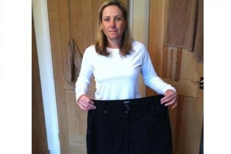 La inglesa Karen Stupples golpeó muy lejos sus kilos de más