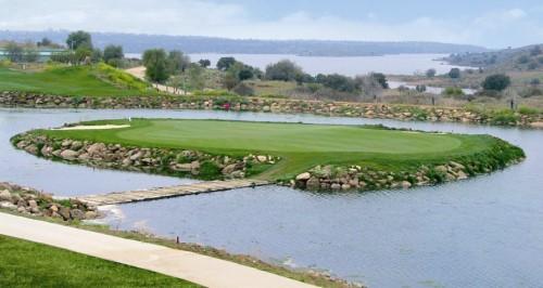 Campo de golf de Layos, en Toledo.