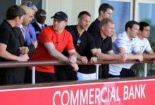 Futbolistas del Manchester United asistieron al golf en el Masters de Catar
