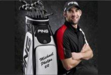 PING ficha al 'golfista' de las 22 medallas olímpicas Michael Phelps