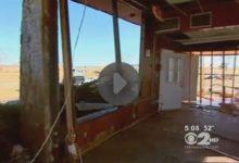 El huracán 'Sandy' liquida el campo de Middle Bay CC en Nueva York (VIDEO)