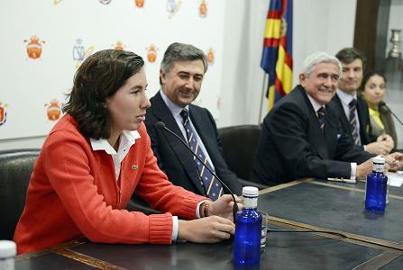Carlota Ciganda, estrella del Pro Spain Team 2013. Son 14 los integrantes