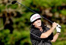 El rockero Alice Cooper saca los palos en Dubai: jugó con Rafa Cabrera-Bello