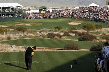 Hoyo 17 del TPC de Scottsdale. about.com golf