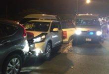 Accidente de coche de Peterssen, Creamer y Miyazato por las calles de Bangkok