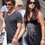 Adam Scott y su novia Ana Ivanovic