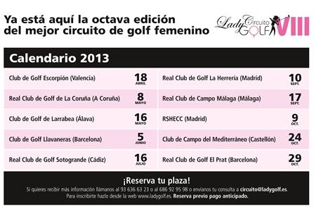 La VIII Edición del Circuito Lady Golf ya está en marcha
