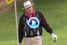 Hay a quien se le da mejor un 'micro' que un palo de golf, que se lo digan a Chris Berman de ESPN (VÍDEO)