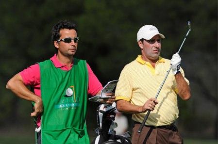 Alex Larrazábal y José Mª Olazábal. Foto: Castellón Masters
