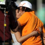Rickie Fowler con su novia Alexandra Browne