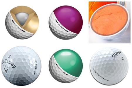 bolas de golf