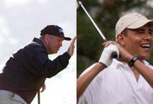 Barack Obama, otro alumno presidencial de Butch Harmon