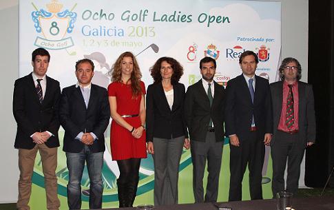 Mujeres al alza en 2013-14 con el Ocho Golf Open Galicia