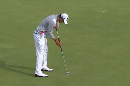 Adam Scott, con su Belly Putter