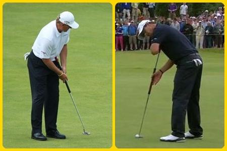 Seleccionamos a los golfistas más afectados por el veto a los anclajes
