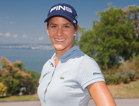 Azahara Muñoz, 'Mejor española' 2012 para Lady Golf