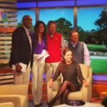 Beatriz Recari fue la protagonista en el programa de Golf Channel, Morning Drive