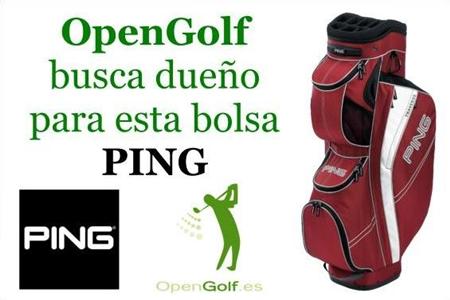 OpenGolf busca dueño para una bolsa de PING