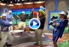 Bubba Watson no se resistió al 'Harlem Shake' (VIDEO)