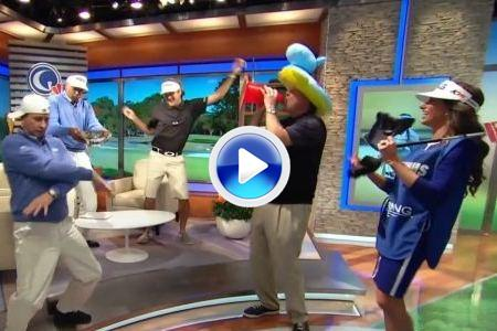 Bubba Watson no se resistió al 'Harlem Shake' (VIDEO)