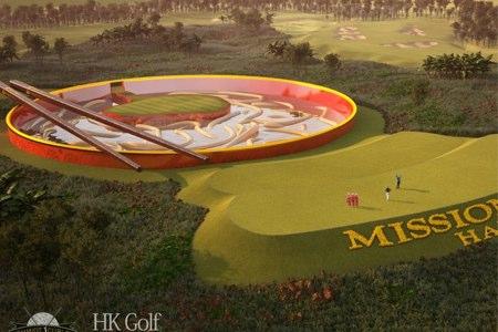 Par 3 del Mission Hills Resort. Foto: HK Golf