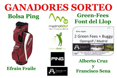 Ganadores Madrid Golf