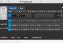 El checo Svoboda es el último de la fila. 46 golpes en 6 hoyos (Tour Europeo)