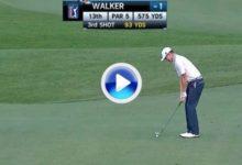 Jimmy Walker embocó desde 84 metros para eagle, fue el golpe del día en el PGA Tour (VÍDEO)