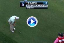 John Rollins marcó el golpe de la jornada con su eagle en el Shell Houston Open (VÍDEO)