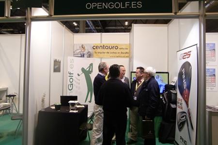 Stand de OpenGolf en la Feria de MadridGolf