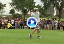 Michael Phelps también se desespera con el golf