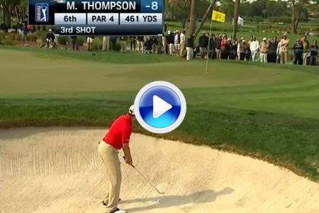 El golpe del día en el PGA National para Thompson