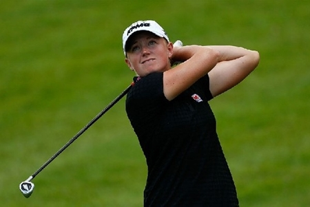 Stacy Lewis. Foto hsbcgolf