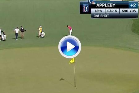 El eagle de Appleby, el mejor golpe de la jornada en Texas (VÍDEO)
