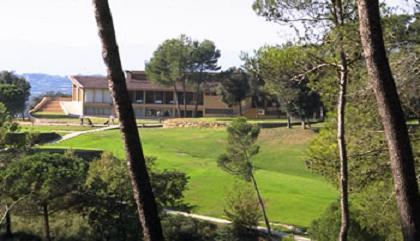 Vista de la casa club del Golf Girona. Foto: web Golf Girona